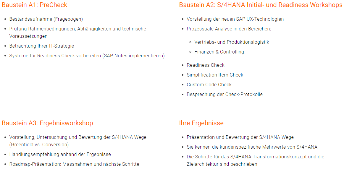 S4HANA Workshop-Serie